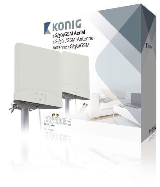 4g/3g/Gsm-Antenni Jossa On 2 X 2