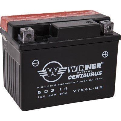 Akku 12v 3ah 50a Ytx4l-Bs Winner Centaurus