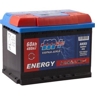 Akku 12v 480a 60ah Vapaa-Aika M+ Energy
