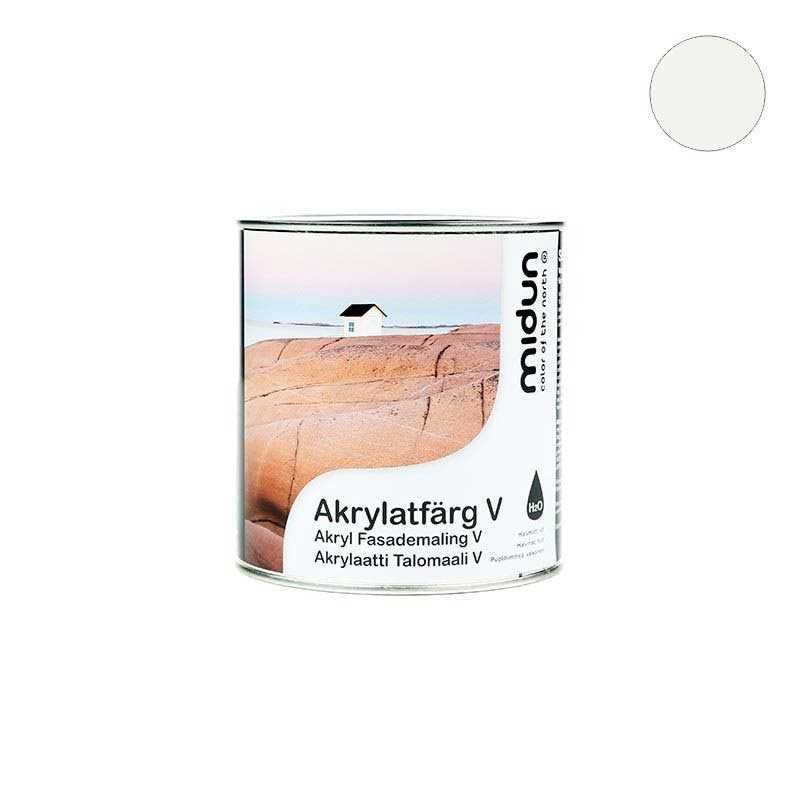 Akrylaatti Talomaali V Valkoinen