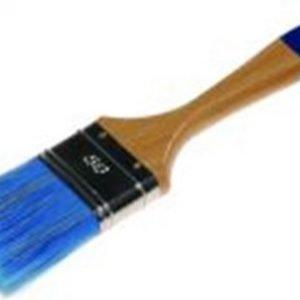 Akryylipensseli 70mm Harjaksen Koko 64x59mm 20/80 Polyester 60% Luonnonkuitu Päät Puukahva Painter