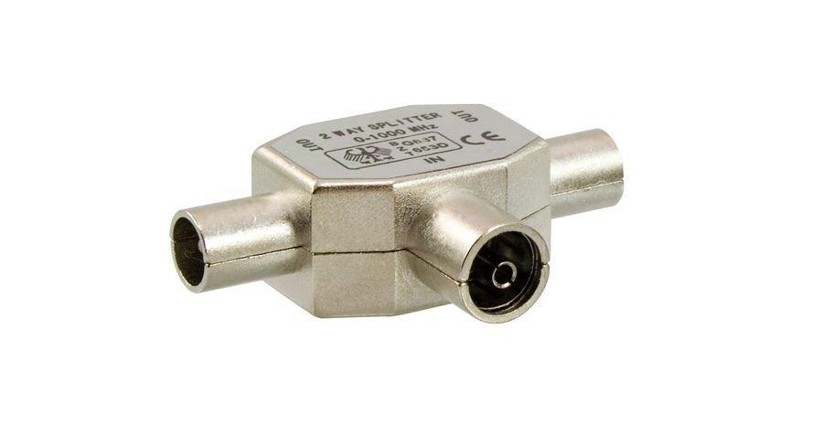 Antennijakopistoke Metalli N/2u Electrogear