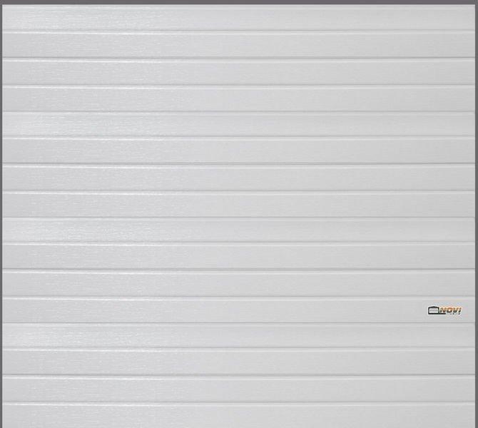 Autotallin Nosto-Ovi 250x250cm Valkoinen Vaakapaneeli Novi Nosto-Ovet