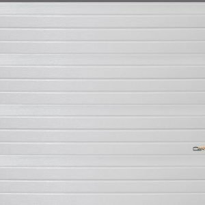 Autotallin Nosto-Ovi 300x320cm Valkoinen Vaakapaneeli Novi Nosto-Ovet