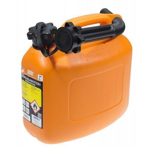 Bensakanisteri 5l Oranssi Plastex