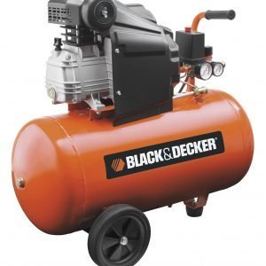 Black & Decker Paineilmakompressori 2 Hv / 50 L
