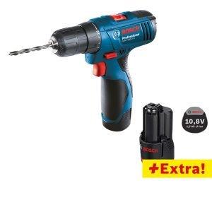 Bosch Gsr 1080 2 Li Professional 2x1