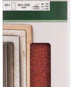 Bosch Hiomapaperi Lajitelma 93 X 230 Mm 10-Osainen