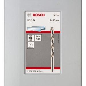 Bosch Probox Hss G Metalliporanteräsrj 25-Osainen