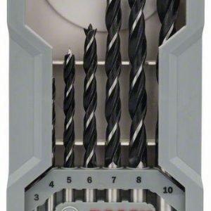 Bosch Puuporanteräsarja 3-10 Mm 7-Osainen