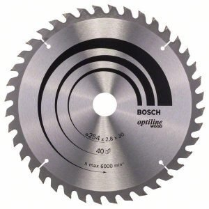 Bosch Pyörösahanterä Z40 254 X 30 Mm