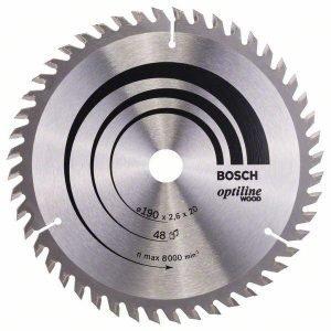 Bosch Pyörösahanterä Z48 190 X 20 / 16 Mm