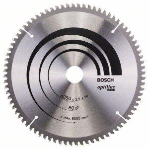 Bosch Pyörösahanterä Z80 254 X 30 Mm