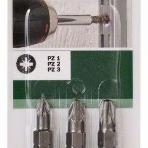 Bosch Ruuvauskärkisarja Pz 3-Osainen