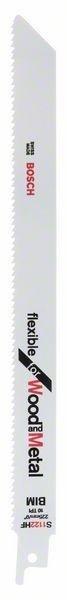 Bosch S1122hf Puukkosahanterä Puu / Metalli 228 Mm