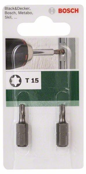 Bosch T15 Ruuvauskärki 2 Kpl