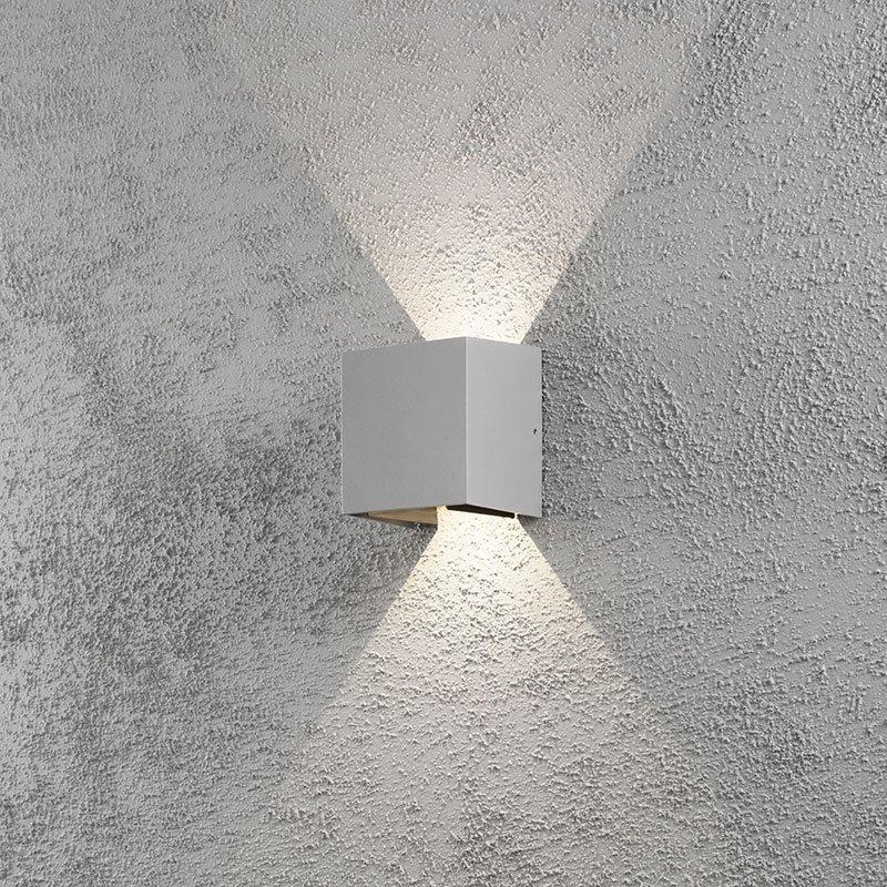 Cremano-seinävalaisin Konstsmide harmaa Harmaa