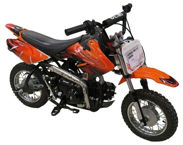 Crossipyörä 70cc Samurai Juniori