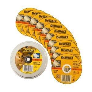 Dewalt Dt42240 115 Mm Metallikatkaisulaikat 10 Kpl