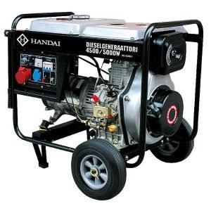 Dieselaggregaatti / Dieselgeneraattori Handai 4500/5000w 230/400v