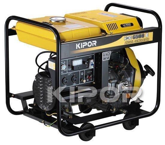 Dieselaggregaatti / Dieselgeneraattori Kipor Kde6500e 230v
