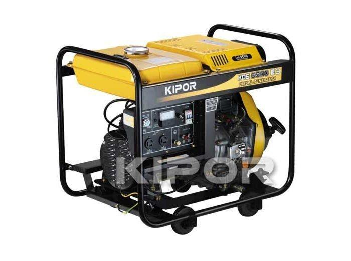 Dieselaggregaatti / Dieselgeneraattori Kipor Kde6500e3 230/400v