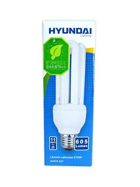 Energiansäästölamppu 11w 3u E27 Hyundai