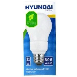 Energiansäästölamppu 11w E27 Hyundai
