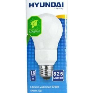 Energiansäästölamppu 15w E27 Hyundai