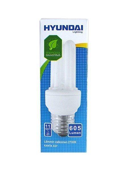 Energiansäästölamppu Mini 11w 3u E27 Hyundai