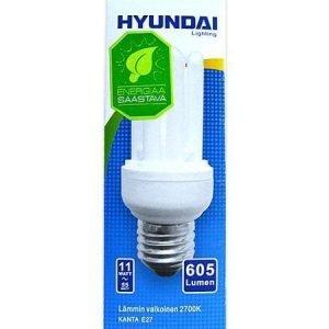Energiansäästölamppu Supermini 11w 4u E27 Hyundai