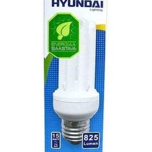 Energiansäästölamppu Supermini 15w 4u E27 Hyundai