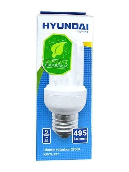 Energiansäästölamppu Supermini 9w 4u E27 Hyundai