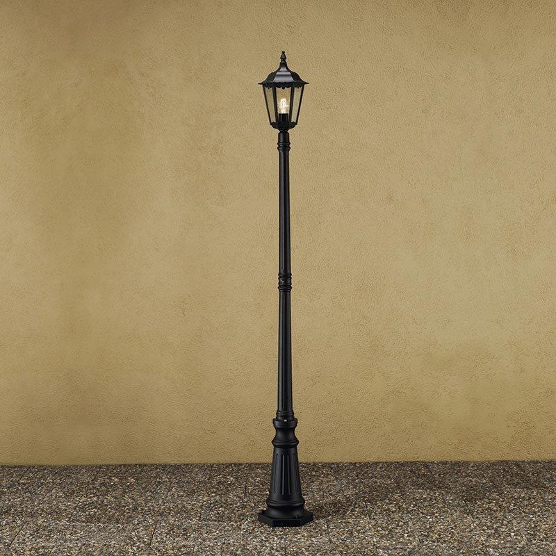 Firenze-pylväsvalaisin Konstsmide Musta
