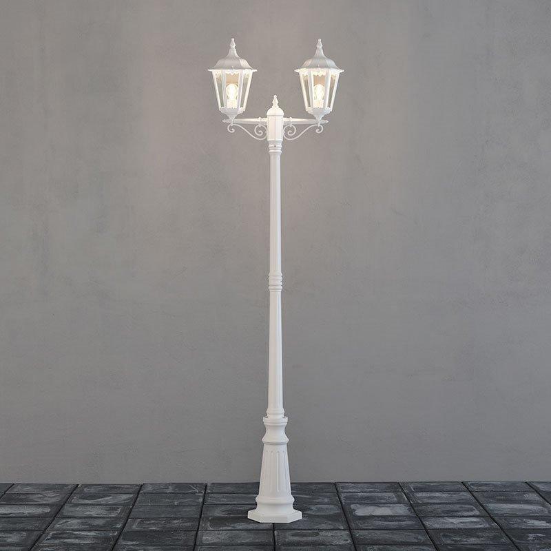 Firenze-pylväsvalaisin Konstsmide Valkoinen