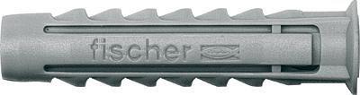Fischer Nailontulppa 6 X 30 Mm 100 Kpl / Pkt