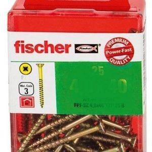 Fischer Yleisruuvi Uppokanta 4 X 25 Mm 50 Kpl / Pkt