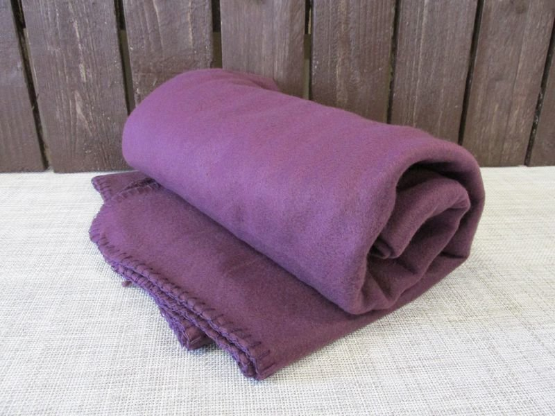 Fleecehuopa 125x160cm Violetti Basic