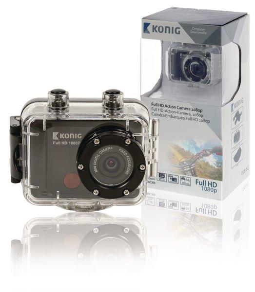 Full Hd -action-kamera 1080p Vedenpitävä Kotelo