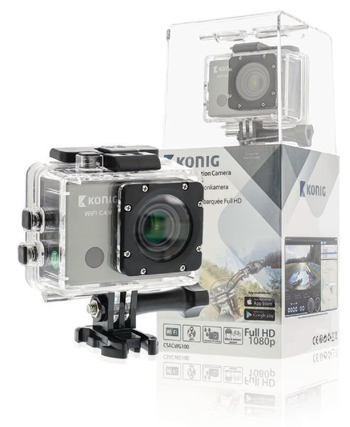 Full Hd -action-kamera Gps Ja Wi-Fi