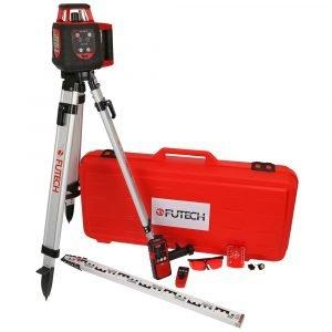 Futech Red Racer Tasolaser Laukku Paketti