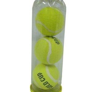 Gold Cup Tennispallot 3kpl/Tuubi
