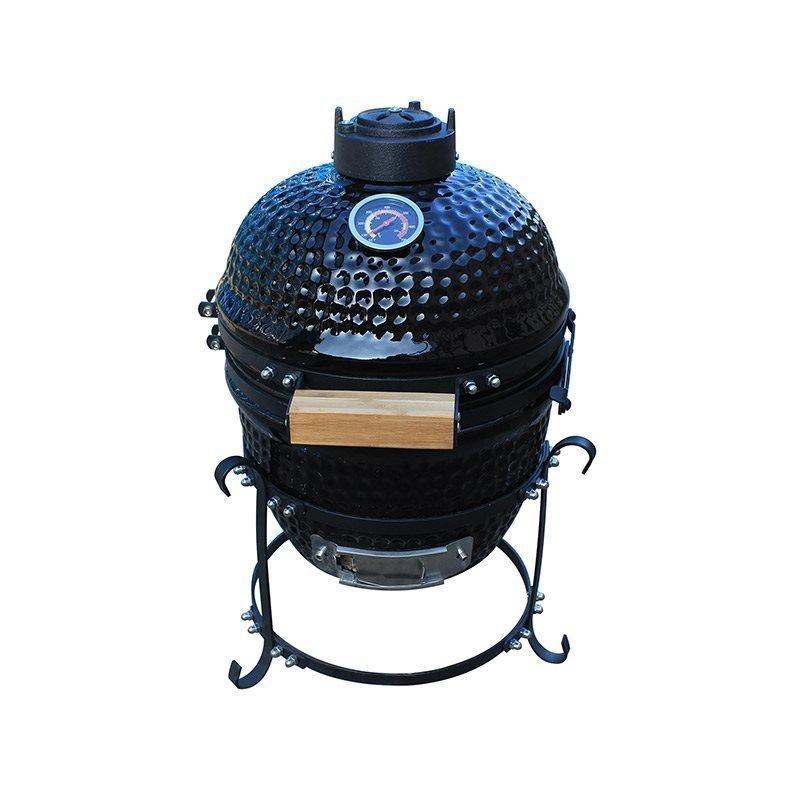 Grilli BBQ grill Kamado mini Musta