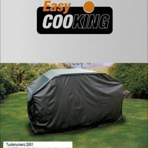 Grillinsuojus / -peite 129x16x90 Puuvillavuori Easy Cooking