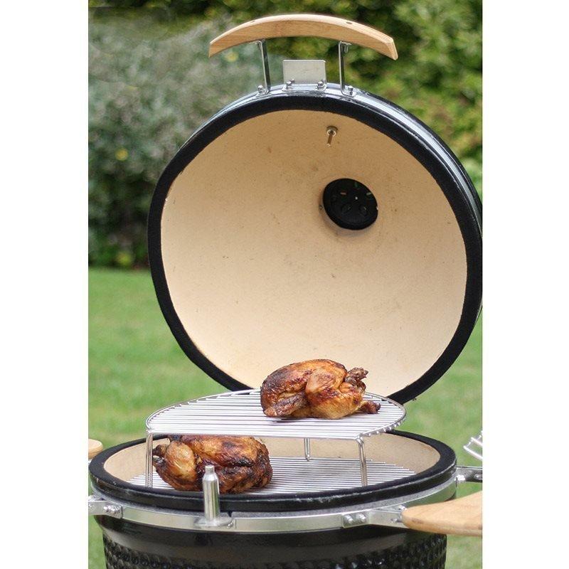 Grilliritilä BBQ grill Kamado Harmaa