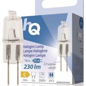 Halogeenilamppu Kapseli G4 16 W 230 Lm 2800k Hq