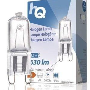 Halogeenilamppu Kapseli G9 42 W 630 Lm 2800k Hq