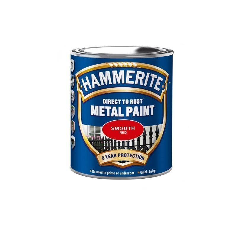 Hammerite Smooth Finish Punainen
