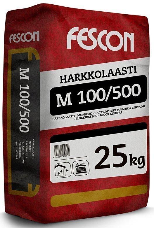Harkkolaasti Fescon M100 / 500 25 kg säkki