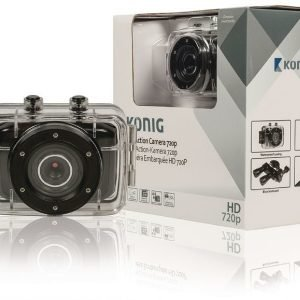 Hd-Action-Kamera 720p Vedenpitävä Kotelo